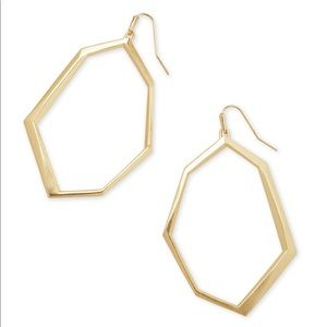 Gold Lindsey earring